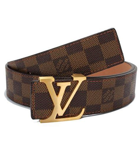 louis vuitton lv s initiales damier brown check golden