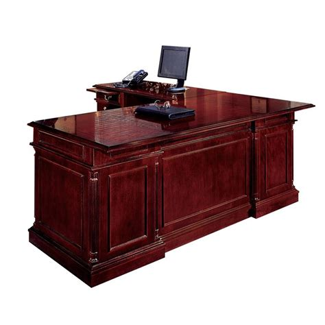 cherry l shaped desk keswick english cherry executive l shape desk left handed