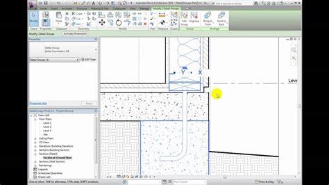 tutorial of revit architecture 2011 revit architecture 2011 tutorial creating detail groups