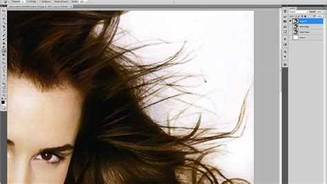 photoshop cs3 refine edge tutorial hair selection refine edge tutorial youtube