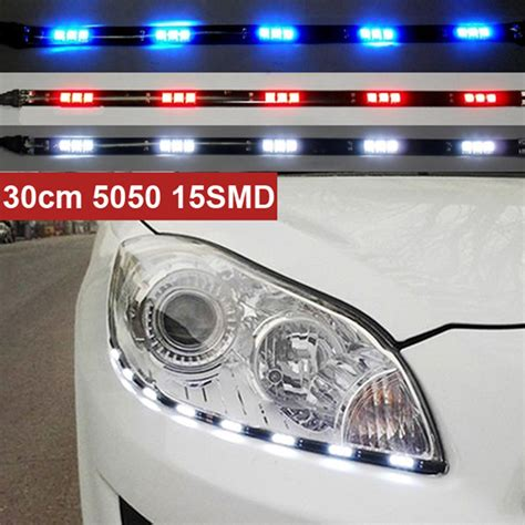 Parking Light by Newest 2pcs X 30cm 5050 15 Smd Drl Parking Light Led Car