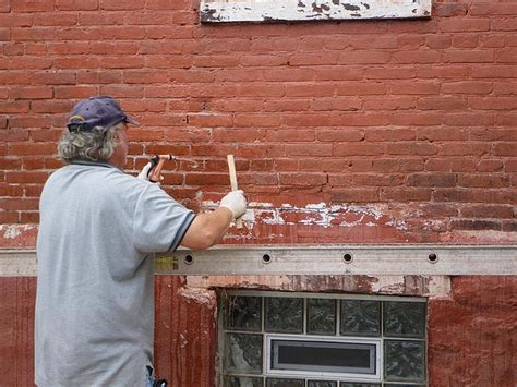 removing paint from bricks exterior how to remove paint from bricks