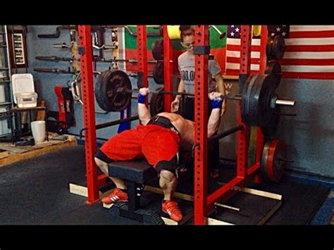 savickas bench press 725x2 squat 329kg pr doovi