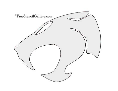 thundercats pumpkin carving template thundercats symbol stencil free stencil gallery