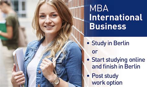 Mba In Fashion Management In Canada by Mba International Business At Coupon Iubh School Of