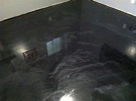 Garage Floor Epoxy Black by Metallic Epoxy Floor Floors Epoxy Floor