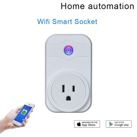 wireless wifi smart socket us home automation switch