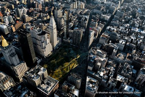 Parking Square Garden by A Photographic Tour Of Manhattan From The Air With New