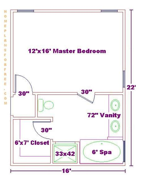 master bedroom layouts master bathroom and closet floor plans woodworking