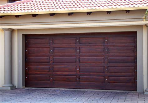 Wooden Garage Doors Pretoria Wide Range Wood Doors Wood Garage Door Prices