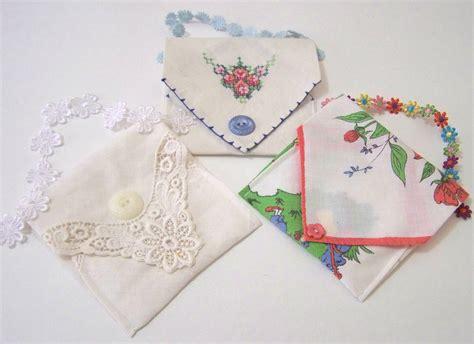 craft tutorial hankie envelopes