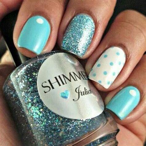 ideas  bright blue nails  pinterest
