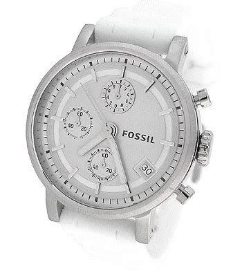 Fossil Satchel 2785 fossil chronograph rubber es2785 ebay
