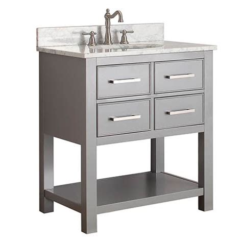 Bathroom Vanity Combos Sale by Chilled Gray 30 Inch Vanity Combo With