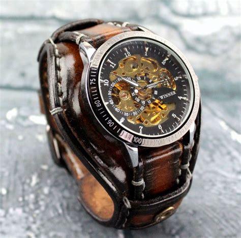 pulseras de cuero para relojes m 225 s de 25 ideas incre 237 bles sobre relojes de cuero en