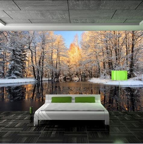 Cheap Modern Home Decor by Wall Murals For Bedroom Marceladick Com