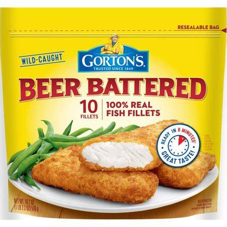 gortons beer battered fish fillets  oz  ct