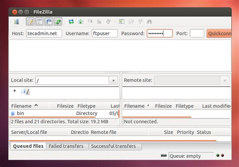 setup ubuntu sftp server how to install filezilla in ubuntu 16 04 14 04 and