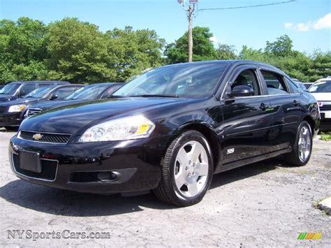 2008 impala black 2008 chevrolet impala ss in black 217600 nysportscars