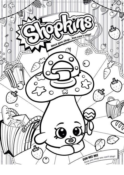 shopkins lipstick coloring page desenho de shopkins chupeta para colorir tudodesenhos