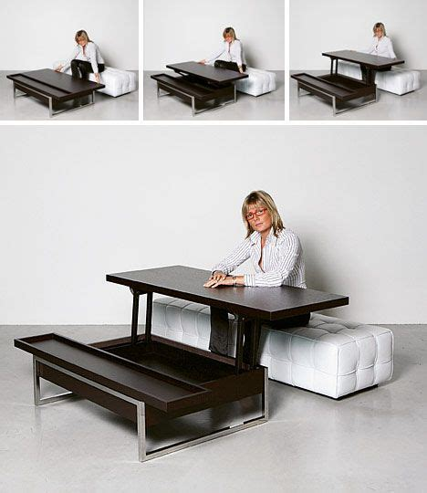 Coffee Table Desk Combo Like The Idea N Concept Just Not