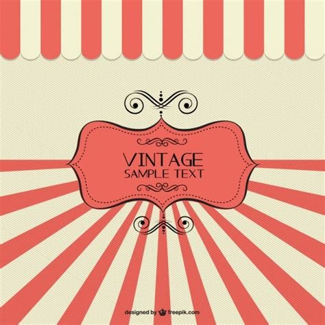Design Banner Retro | retro banner sunburst design vector free download