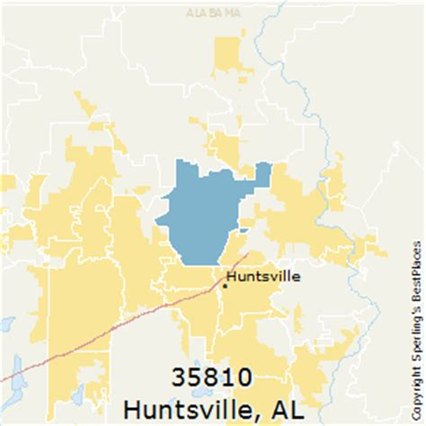 Section Alabama Zip Code by Best Places To Live In Huntsville Zip 35810 Alabama