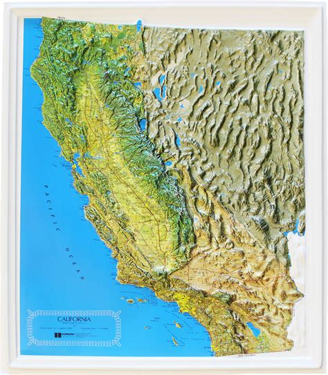 relief map buy california relief map flagline