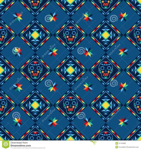 abstract aztec pattern tribal abstract seamless pattern aztec geometric stock