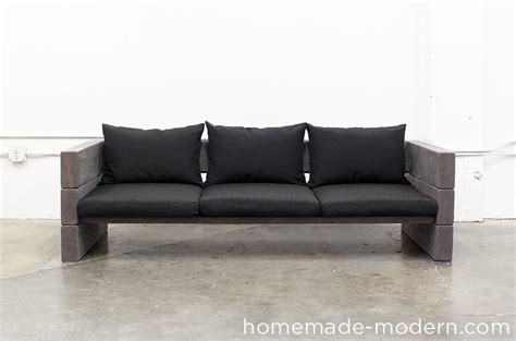 home made couch homemade modern ep70 outdoor sofa