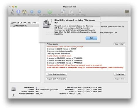 format external hard drive mac error could not unmount disk how to repair verify your hard drive from the command