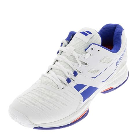 new babolat s sfx 2 all court tennis shoes white blue