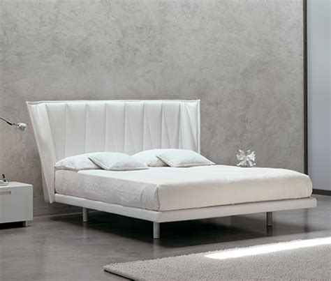 all modern headboard white modern bed by md house