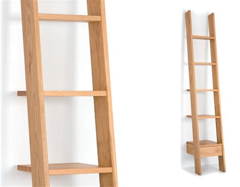 ladder bookcases ladder bookcase oak ladder shelf ideal home show shop