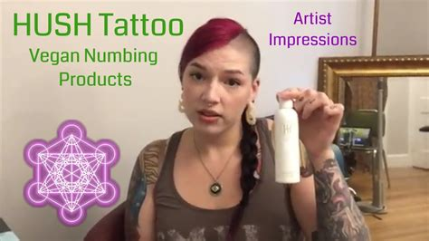 hush tattoo numbing cream reviews hush tattoo vegan lidocaine numbing product review artist