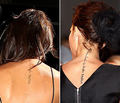 victoria beckham tattoo removal beckham s is almost why laser
