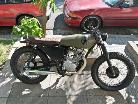 non ricer honda honda 125cc tracker no cafe racer scrambler motos