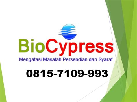Obat Herbal Biocypress 0815 7109 993 bpk yogies obat saraf biocypress bandung obat diabet