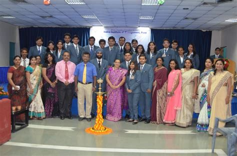 Pune Executive Mba 2015 by Mba Induction 2015 Indira Of Institutes Pune