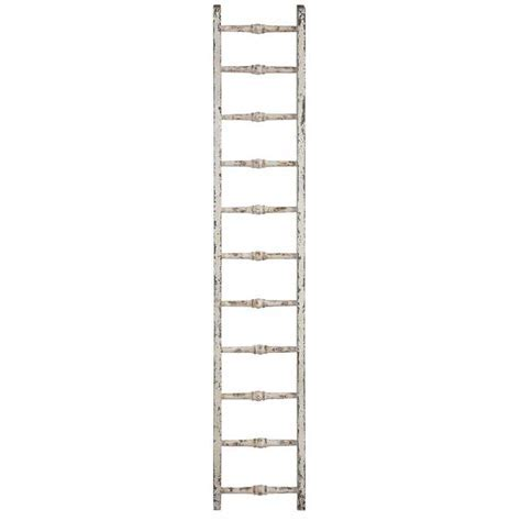 Vintage style Wood Ladder DE7576   Wall Decor & Vanity