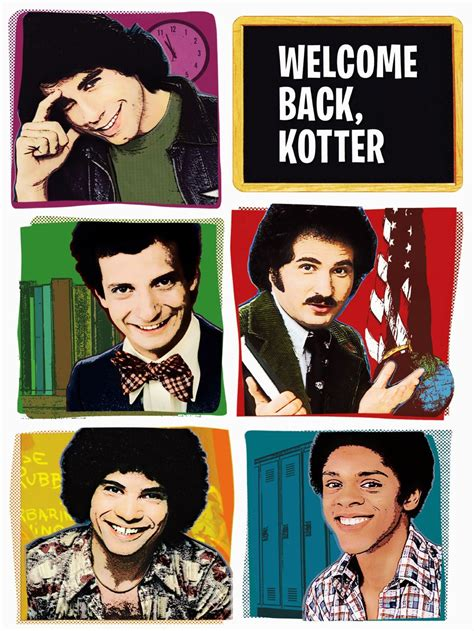 kotter tv show welcome back kotter cast and characters tv guide