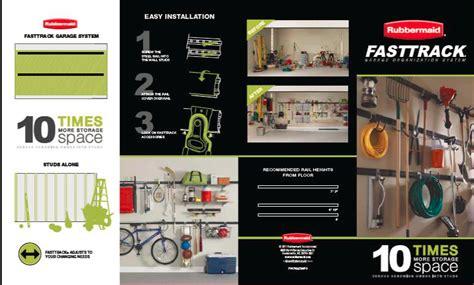 Fasttrack Garage Organization System Our Garage Organizing Diy Project Fabulous