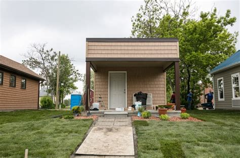 tiny house community new tiny home community in detroit offers housing to low