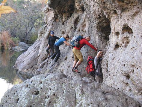 malibu creek climbing malibu creek boulder scramble hike swim oss outdoor
