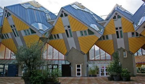 Home Interior Design Blogs by Rotterdam S Cube Houses Look Like They Re About To Topple