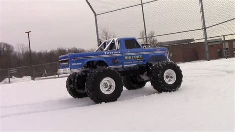 bigfoot 2 truck traxxas bigfoot no 1 the original truck in