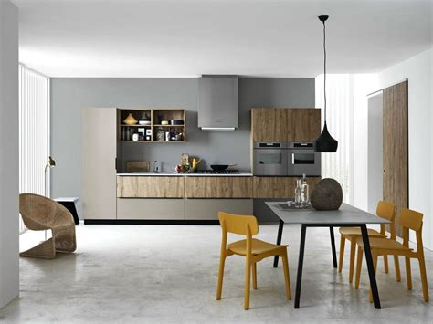 cesar arredamenti linear fitted kitchen ariel composition 3 by cesar