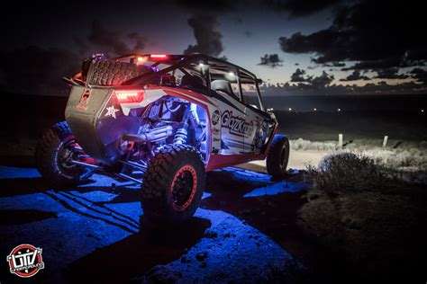 decorate rzr 1000 for christmas parade feature vehicle glazzkraft xp1k pre runner utvunderground