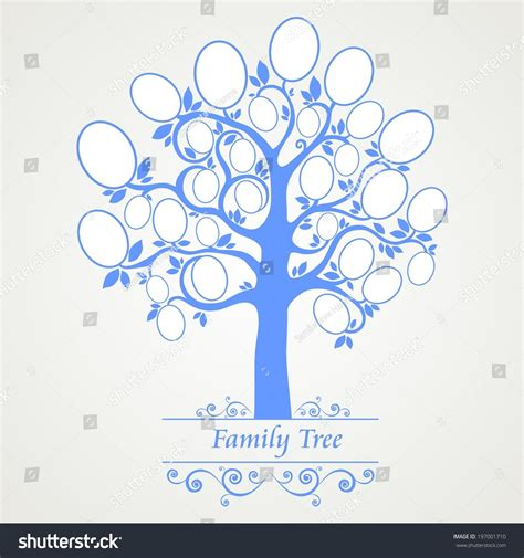 html input pattern empty family tree frames empty for your input illustration