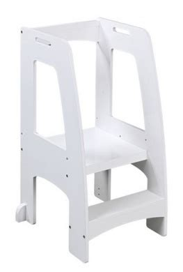 Kitchen Helper Safety Tower Step Stool by One Step Ahead Kitchen Helper Safety Tower Step Stool